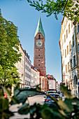 Allerheiligenkirche am Kreuz, Altstadt von München, Bayern, Deutschland