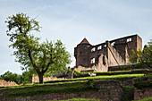 Wertheim Castle, Wertheim, Spessart-Mainland, Franconia, Baden-Wuerttemberg, Germany, Europe