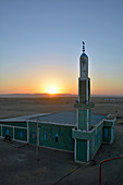 Ethiopia; Afar region; on the edge of the Danakil Desert; Mosque on the outskirts of Semera