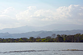 Äthiopien; Region der südlichen Nationen; südliches äthiopisches Hochland; Chamo See bei Arba Minch; ostafrikanischer Grabenbruch