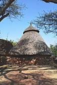 Ethiopia; Southern Nations Region; Stone house in Konso; traditional construction; People of the Konso