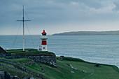 Skansin lighthouse in the capital, Torshavn, Faroe Islands