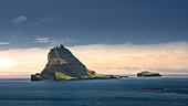 Insel Tindholmur, Färöer Inseln\n