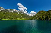 Hintersteinersee at the Wilder Kaiser, Kaiser Mountains, Tyrol, Austria