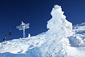 Steinplatte in winter, Tyrol, Pillerseetal, Austria
