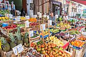 Ballaro market, Palermo, Sicily, Italy, Europe,