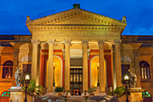 Teatro Massimo, Palermo, Sizilien, Italien