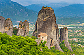 Holy Monastery of Rousanou, UNESCO World Heritage Site, Meteora Monasteries, Greece, Europe