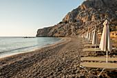 Sunrise at Kolymbia Beach, Rhodes, Dodecanese, Greek Islands, Greece, Europe
