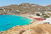 Super Paradise Beach, Mykonos, Cyclades Islands, Greek Islands, Greece, Europe