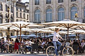 France, Meurthe et Moselle, Nancy, Place Stanislas or former Royal Place listed as World Heritage by UNESCO built by Stanislas Leszczynski king of Poland and last Duke of Lorraine in the 18th century