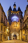 France, Gironde, Bordeaux, area listed as World Heritage by UNESCO, the Grosse Cloche (Big Bell)