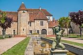 France, Cher, Saint Amant Montrond, Saint Vic museum, Cher valley, Berry