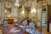 France, Paris, hotel de Besenval, embassy of Switzerland, the salon