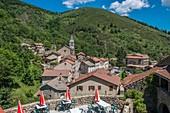 France, Ardeche, Saint Laurent les Bains, parc naturel r?gional des Monts d'Ardeche (Regional natural reserve of the Mounts of Ardeche)