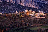 France, Var, Dracenie, Bargeme, ranked Most Beaul Villages of France, le plus haut village du Var