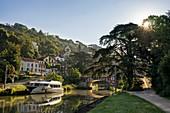 France, Lot et Garonne, Agen, canal of the Garonne