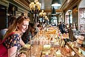 France, Paris, the Laduree pastry shop