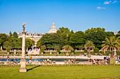 France, Paris, Saint Michel district, the Luxembourg Garden