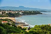 France, Pyrenees Atlantiques, Bask country, Bidart, Bask coastline