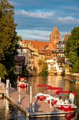 France, Bas Rhin, Strasbourg, old city listed as World Heritage by UNESCO, Petite France district