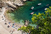 France, Bouches du Rhone, Marseille, the blue coast, the calanque of the Vesse