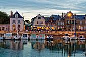 France, Loire Atlantique, Guerande peninsula, Le Croisic, the harbour, the docks
