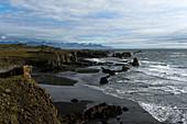 Icelandic east coast near Djupivogur, Iceland