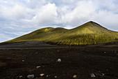 Hills in the Icelandic highlands, Landmannalaugar, Iceland