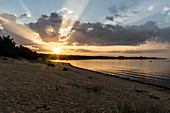 Sunset on Kaberneeme Beach, Kaberneeme, Estonia