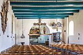 Church in St. Peter-Dorf, North Friesland, Schleswig-Holstein