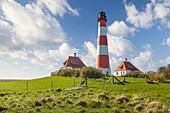 Leuchtturm Westerheversand, Nord-Friesland, Schleswig-Holstein
