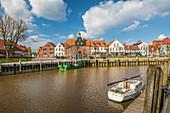 Port of Tönning, North Friesland, Schleswig-Holstein