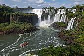 View of Iguazu Falls, Iguazu National Park, Misiones, Argentina, South America