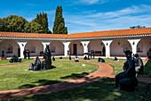 Sculptures in the garden of the Punta del Este Ralli Museum (Museo Ralli), Punta del Este, Maldonado Department, Uruguay, South America