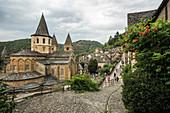 Sainte Foy Abbey, UNESCO World Heritage Site, Conques, Aveyron Department, Occitania, France