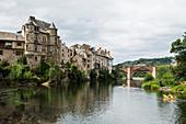 Espalion, Aveyron department, Occitania, France