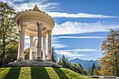 Temple of Venus in the park of Linderhof Palace, Ettal, Allgäu, Bavaria, Germany