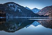 Alpsee bei Hohenschwangau, Schwangau, Allgäu, Bayern, Deutschland