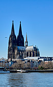 View of Cologne Cathedral from the east, Cologne, North Rhine-Westphalia, Germany