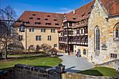 Innenhof der Veste Coburg, Coburg, Oberfranken, Bayern, Deutschland