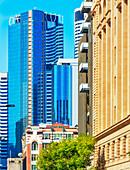 Financial District view, Brisbane, Queensland, Australia, Australasia