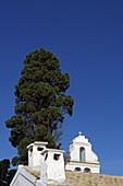 Vlacherna Monastery in the Kanoni district of the capital Kerkira, Analipsi Peninsula, Corfu Island, Ionian Islands, Greece