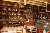Taverna Tripas in the village Kinopiastes is one of the oldest restaurants in Greece, Corfu Island, Ionian Islands, Greece