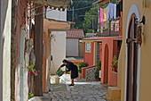 Bauernort Pentati, Insel Korfu, Ionische Inseln, Griechenland