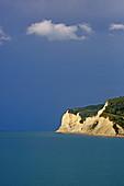Cliff in Stefanos Avlioton, Corfu Island, Ionian Islands, Greece