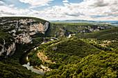 Ardèche, Gorges de l'Ardèche, Vallon-Pont-d'Arc, Rhône-Alpes, France