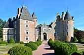 France, Cher, Berry, Chateau de Blancafort, the Jacques Coeur road