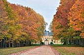 France, Saone et Loire, Palinges, castle of Digoine