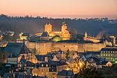 France, Ille et Vilaine, Fougeres, the castle